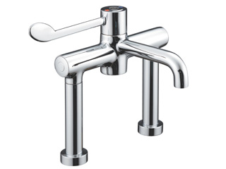 HTM64 Deck Mounted Sequential Thermostatic Mixer Tap