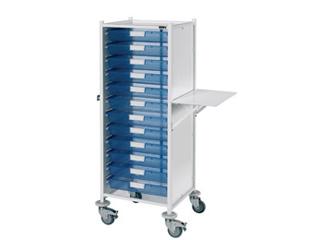 VISTA 120 Trolley - 12 Single Blue Trays