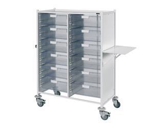 VISTA 240 Trolley - 12 Double Clear Trays