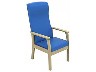 High-Back Arm Chair