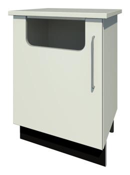 Bench Waste Bin & Door with Handle (Right Handed)