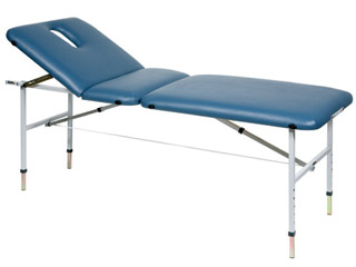 Portable Couch - Blue Upholstery