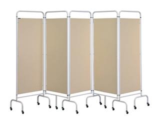 Five Panel Screen - Beige