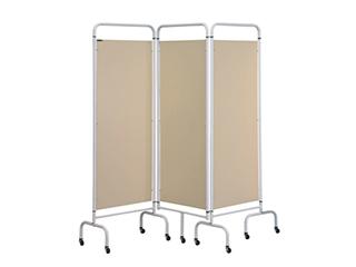 Three Panel Screen - Beige