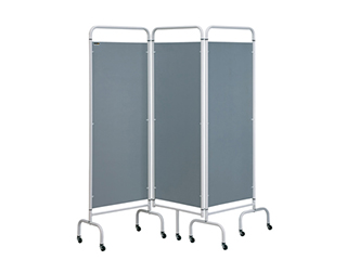Three Panel Screen - Silver