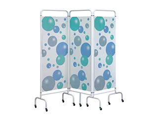 Three Panel Screen - Bubble Design