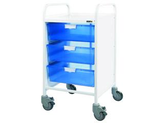 Vista 30 Trolley - 3 Double Blue Trays