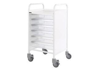Vista 50 Trolley - 6 Single Clear Trays