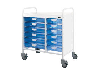 Vista 80 Trolley - 12 Single Blue Trays