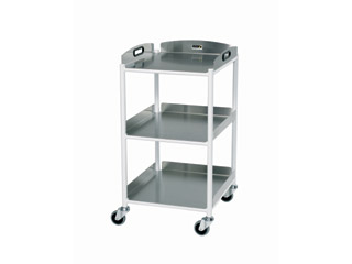 Dressing Trolley - 3 Stainless Steel Trays