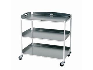 Dressings Trolley - 3 Stainless Steel Trays