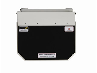 Hands Free Bin with Black Lid - Domestic (Municipal Waste)