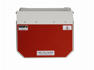 20 Litre Clinical Bin with Orange Lid - Waste which may be treated