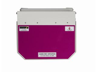 50 Litre Clinical Bin with Purple Lid - Cytotoxic & Cytostatic waste