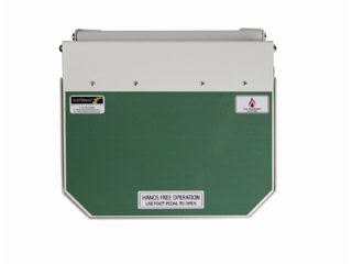 70 Litre Clinical Bin with Green Lid - User defined
