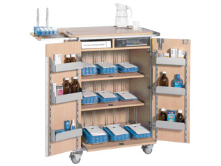 9 Rack MDS Administration Trolley