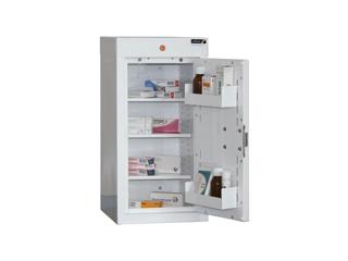 Medicine Cabinet 54 Litre with 3 shelves & 3 door trays, one door