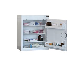 Medicine Cabinet 90 Litre with 3 shelves & 3 door trays, one door