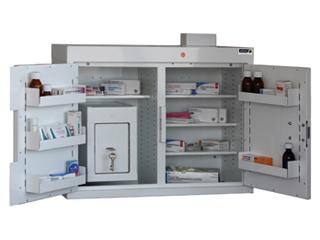 Medicine Cabinet 144 Litre with 17 Litre Inner Drug Cabinet