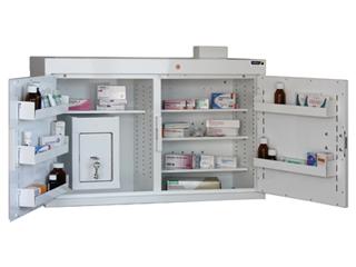 Medicine Cabinet 180 Litre with 17 Litre Inner Drug Cabinet