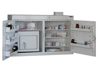 Medicine Cabinet 180 Litre with 27 Litre Inner Drug Cabinet