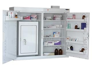 Medicine Cabinet 255 Litre with 50 Litre Inner Drug Cabinet