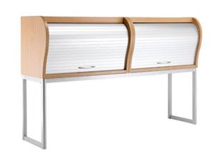 Overhead Desk Tambour Unit