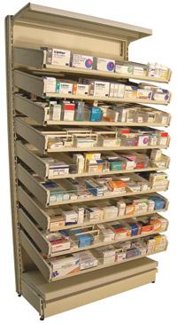Pharma-Drawer Stock Flow