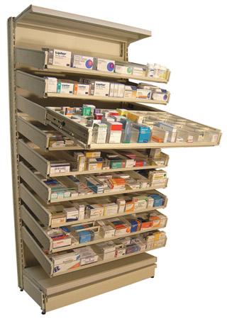 Pharma-Drawer Stock Flow 1000mm
