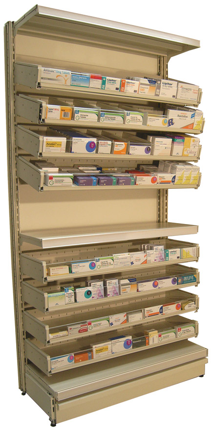 Pharma-Drawer Worktop 300 - 450mm Length