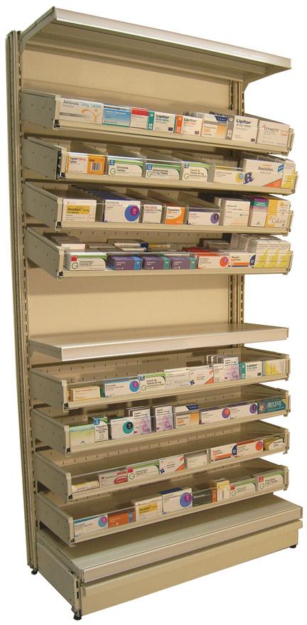 Pharma-Drawer Worktop 300 - 1000mm Length