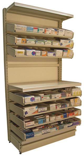 Pharma-Drawer Worktop 500 - 650mm Length