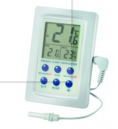 High/Low Temperature Monitor with Tail