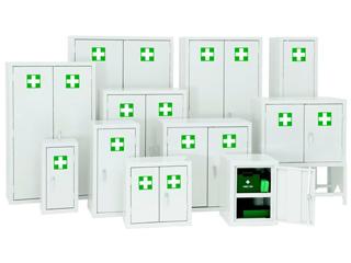 First Aid Cabinet 384 Litre 915 x 915 x 459mm (HxWxD)