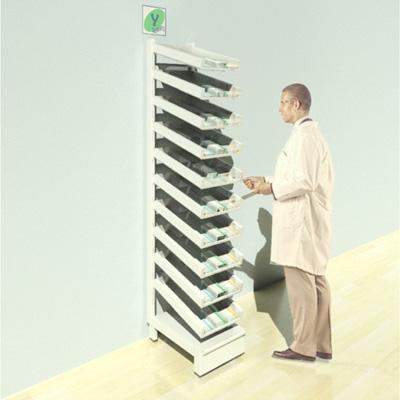 FY_005T Full Height Pharmacy Shelving