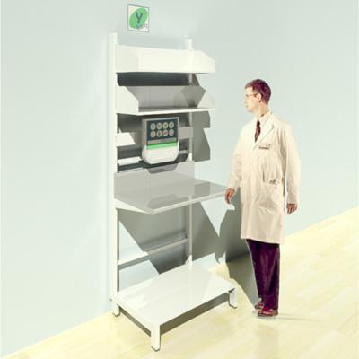 FY-009T Full Height Pharmacy Shelving