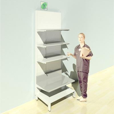 FY-013T Full Height Pharmacy Shelving