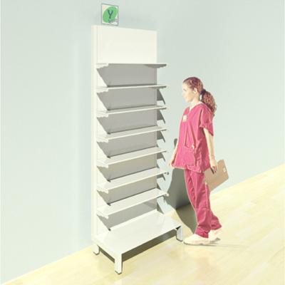 FY-017T Full Height Pharmacy Shelving