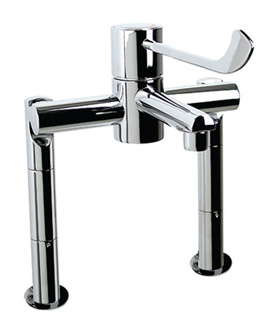 HTM64 Tap Hospital Fitting with Deck Mounting legs